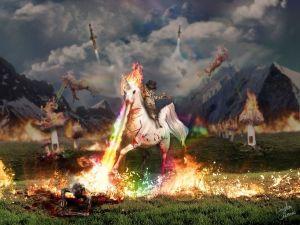 unicorn fire
