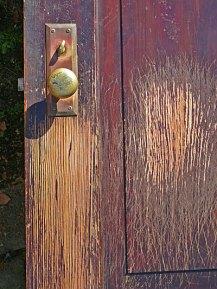 scratched-door